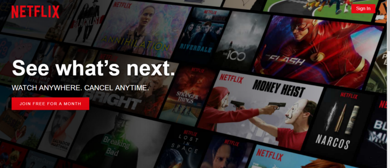 Improve your CTAs - Netflix
