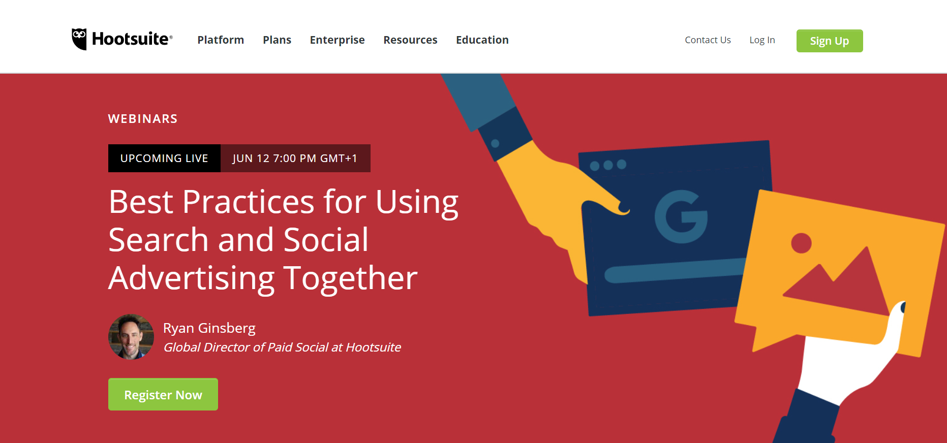 Employee Training Strategy for Remote Webinars Hootsuite Example - Helppier Blog