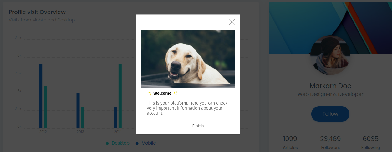 3 Useful Tips to Improve User Retention - welcome messages and onboarding tours